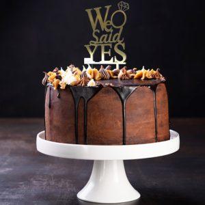 تاپر کیک نامزدی