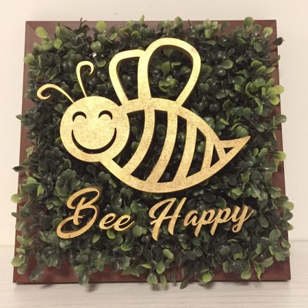 تابلو بوتانی Bee Happy