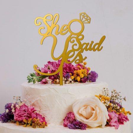 ناپر کیک عروسی