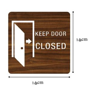 تابلو بستن درب