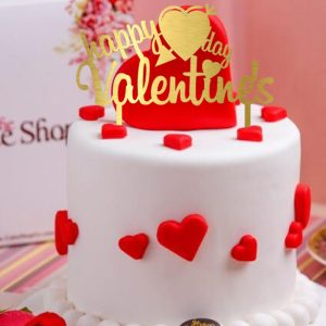 تاپر کیک قلب