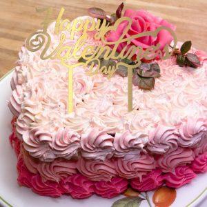 تاپر کیک ولنتاین