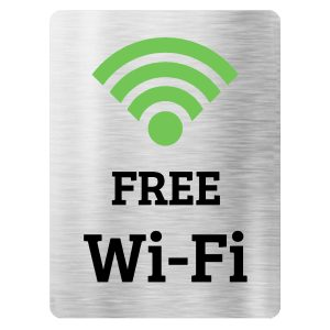 تابلو Free WiFi